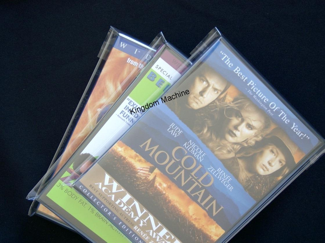 Bolsas de Plastico Solapa Ahhesiva DVD O CD