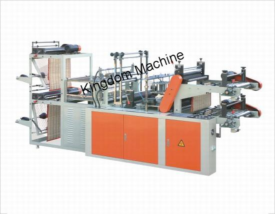 Máquina para fabricar bolsas camisetas en roll