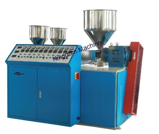 Tres colores maquina fabricar Bombillas plastico